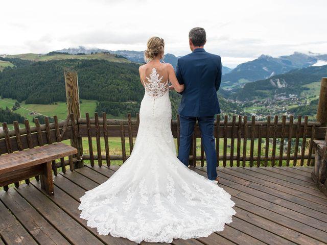 Le mariage de Laurent et Anaïs  à La Clusaz, Haute-Savoie 73