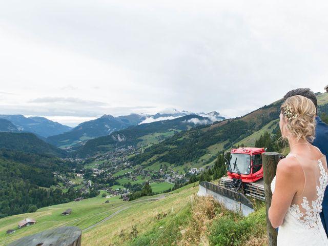 Le mariage de Laurent et Anaïs  à La Clusaz, Haute-Savoie 74