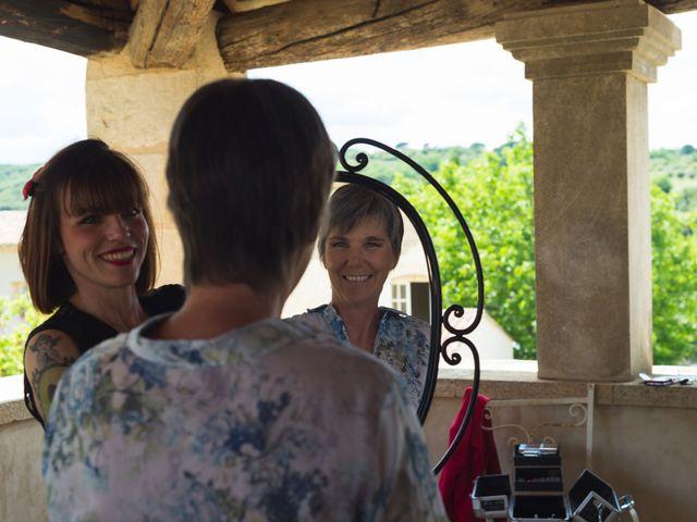 Le mariage de Mike et Pia à Sernhac, Gard 3