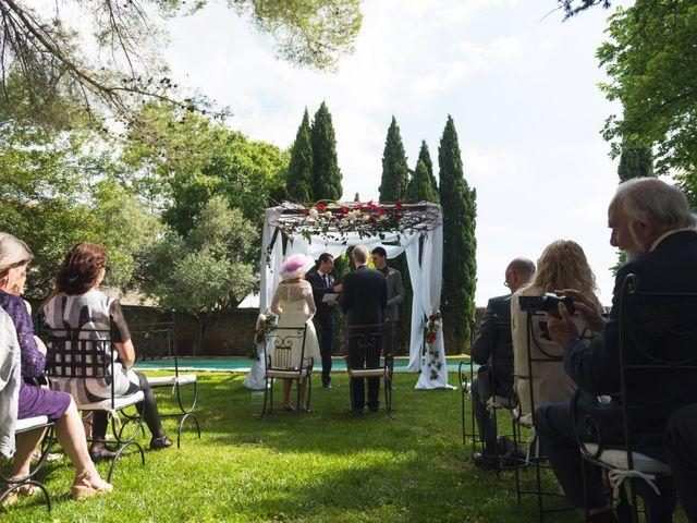 Le mariage de Mike et Pia à Sernhac, Gard 14