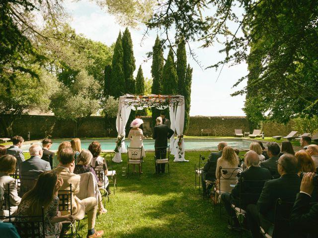 Le mariage de Mike et Pia à Sernhac, Gard 15