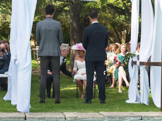 Le mariage de Mike et Pia à Sernhac, Gard 25
