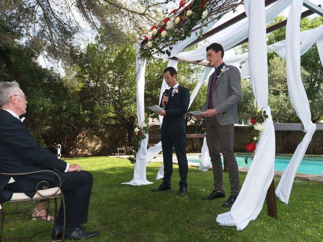 Le mariage de Mike et Pia à Sernhac, Gard 27