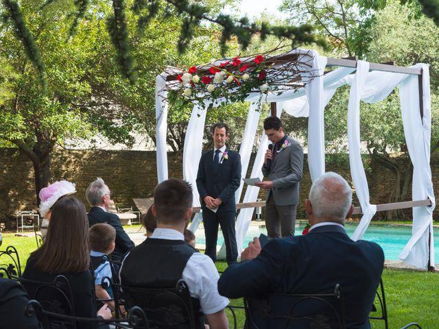Le mariage de Mike et Pia à Sernhac, Gard 31