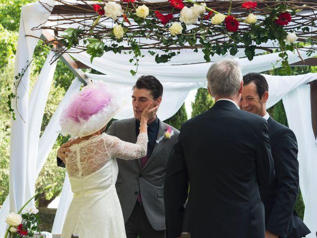 Le mariage de Mike et Pia à Sernhac, Gard 34