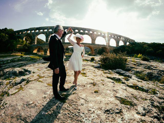 Le mariage de Mike et Pia à Sernhac, Gard 58