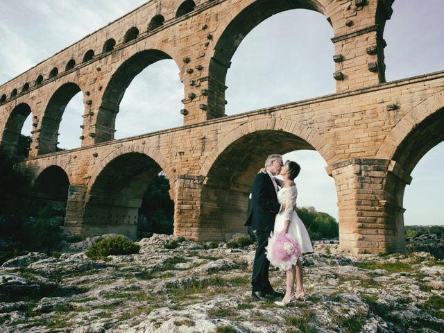 Le mariage de Mike et Pia à Sernhac, Gard 62