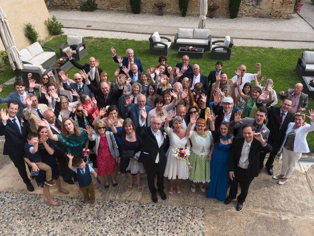 Le mariage de Mike et Pia à Sernhac, Gard 67