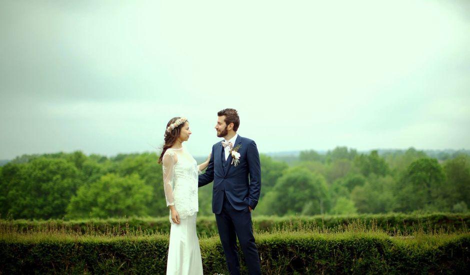 Le mariage de Germain et Clémence à Saint-Pourçain-sur-Besbre, Allier