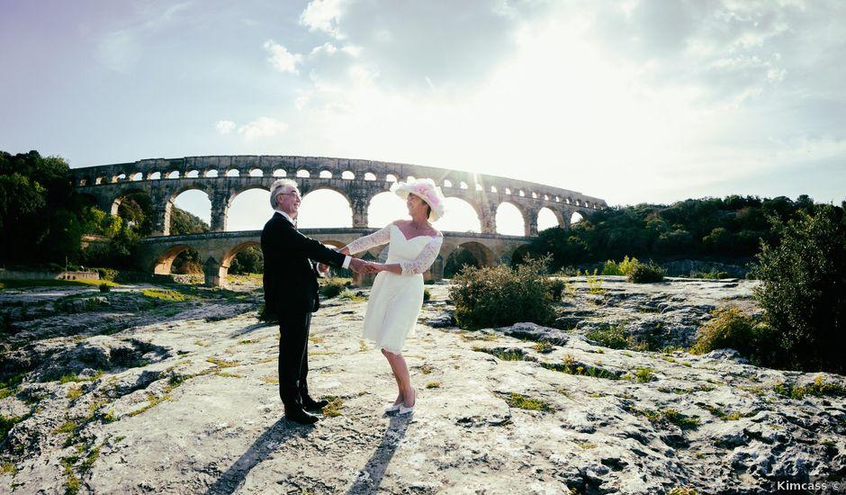 Le mariage de Mike et Pia à Sernhac, Gard