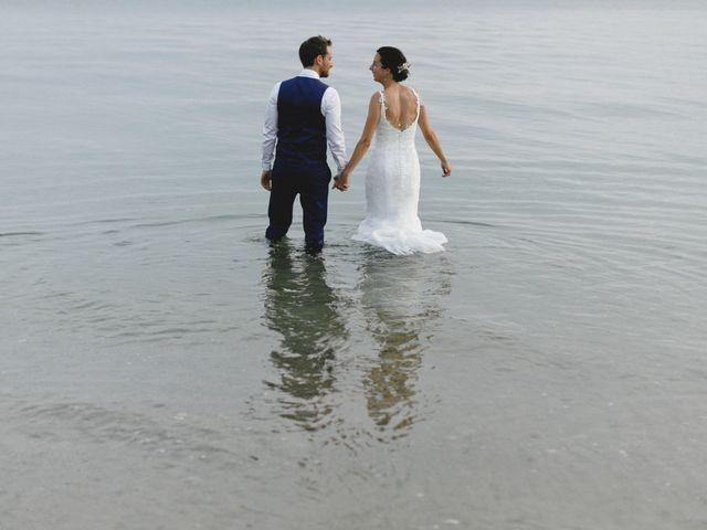 Le mariage de Clément et Gaelle à Concarneau, Finistère 91