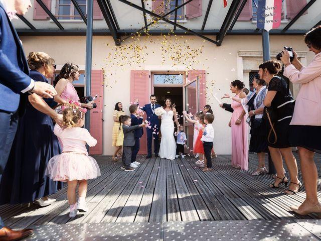 Le mariage de Cédric et Myriam à Montmerle-sur-Saône, Ain 29