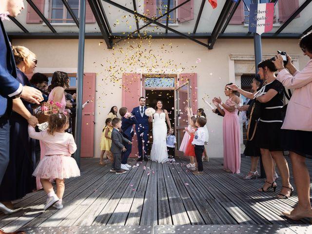 Le mariage de Cédric et Myriam à Montmerle-sur-Saône, Ain 30