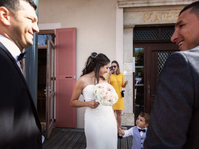 Le mariage de Cédric et Myriam à Montmerle-sur-Saône, Ain 35
