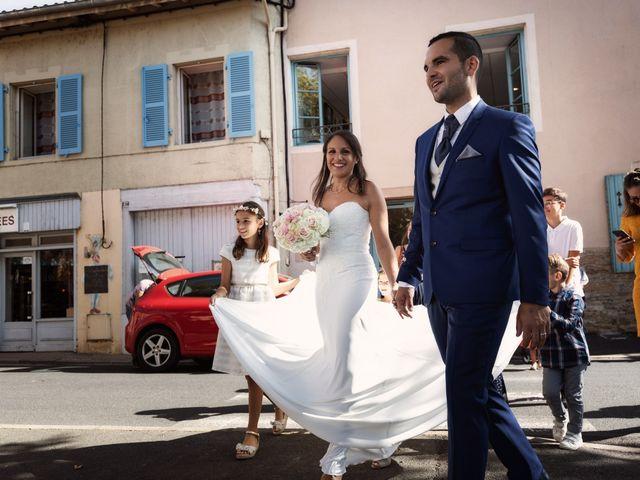 Le mariage de Cédric et Myriam à Montmerle-sur-Saône, Ain 40