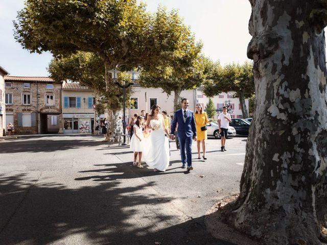 Le mariage de Cédric et Myriam à Montmerle-sur-Saône, Ain 42