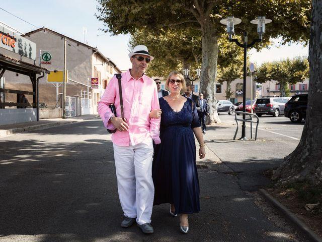 Le mariage de Cédric et Myriam à Montmerle-sur-Saône, Ain 44