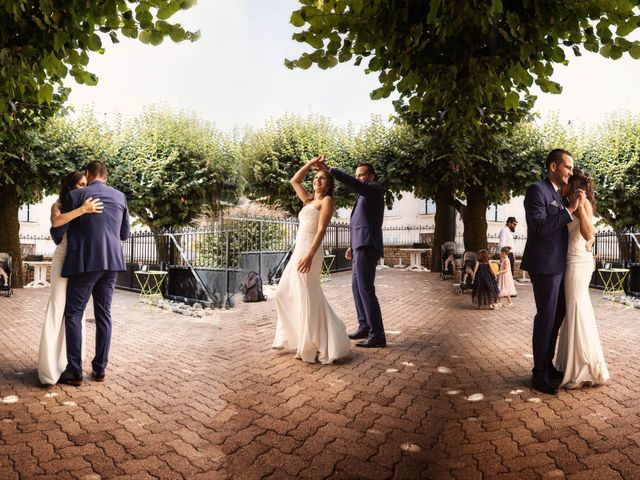Le mariage de Cédric et Myriam à Montmerle-sur-Saône, Ain 2