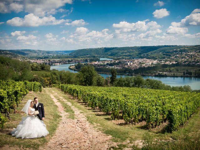 Le mariage de Emmanuel et Lydia à Saint-Marcel-lès-Annonay, Ardèche 8