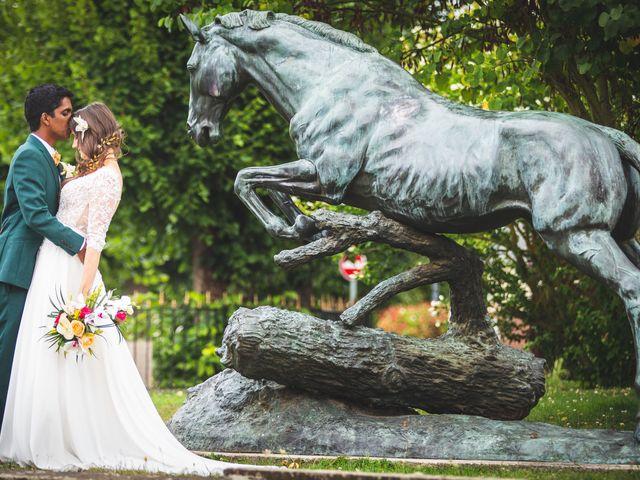 Le mariage de Ananthon et Marie-Louise à Carlepont, Oise 22