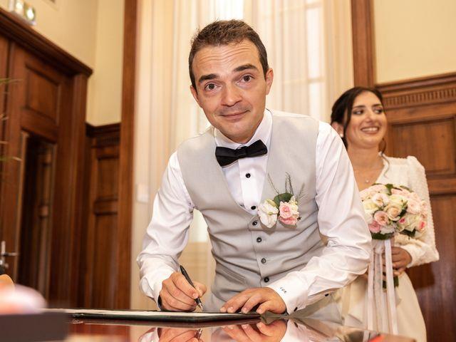 Le mariage de Luca et Lauren à Villecroze, Var 10