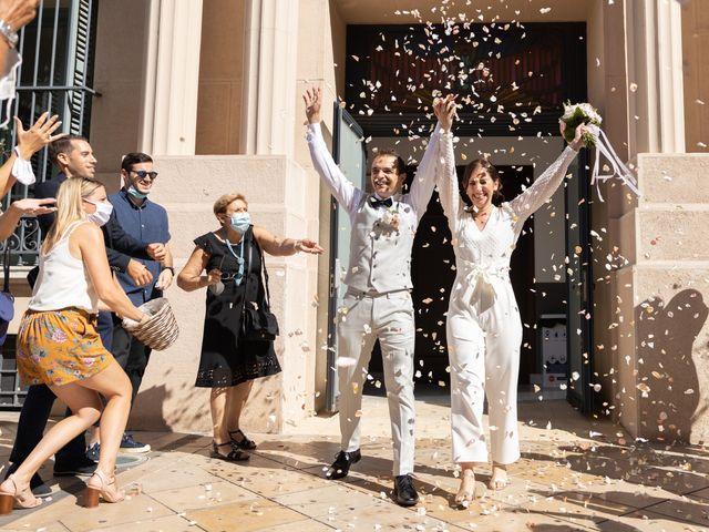 Le mariage de Luca et Lauren à Villecroze, Var 12