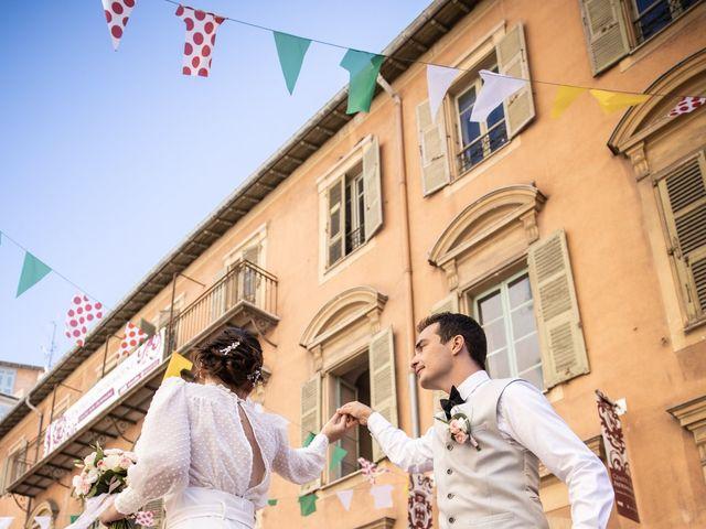 Le mariage de Luca et Lauren à Villecroze, Var 17