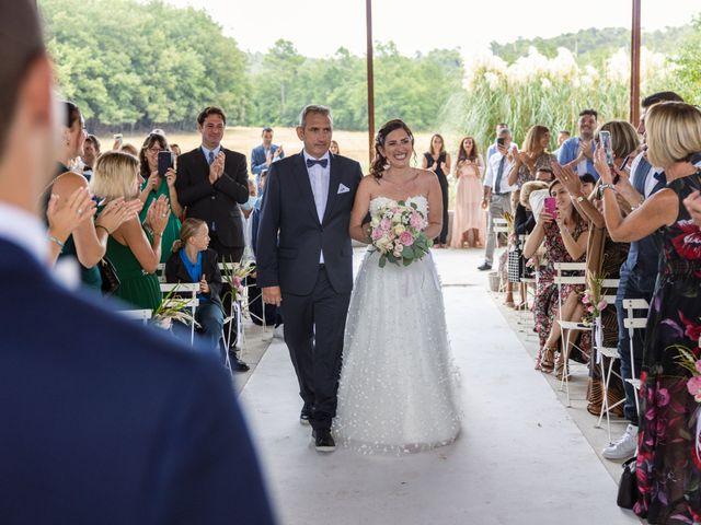 Le mariage de Luca et Lauren à Villecroze, Var 38