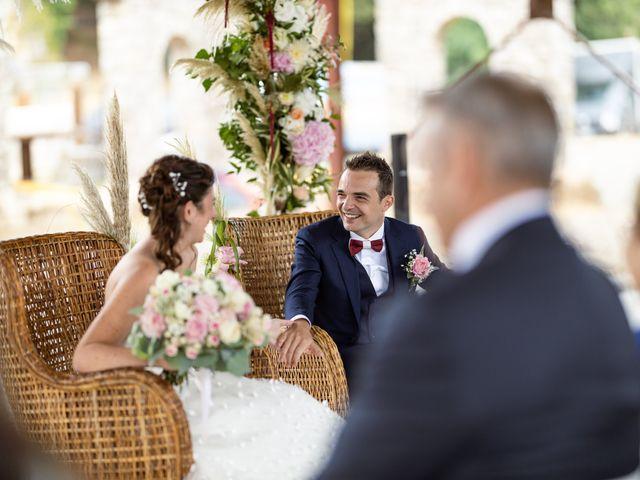Le mariage de Luca et Lauren à Villecroze, Var 43
