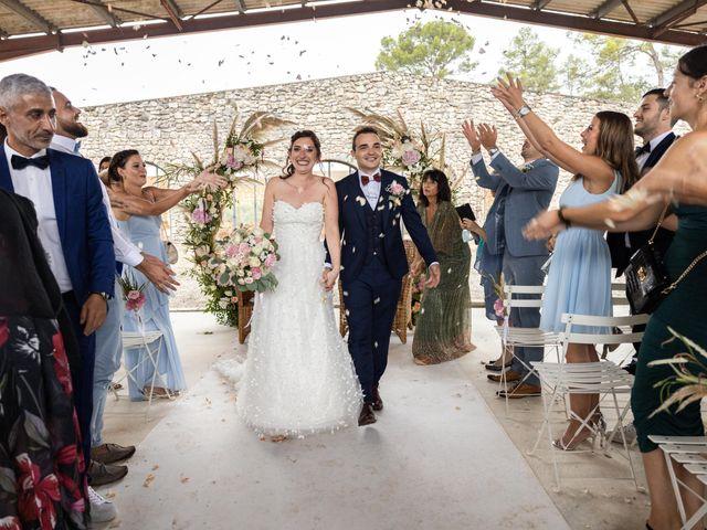 Le mariage de Luca et Lauren à Villecroze, Var 56