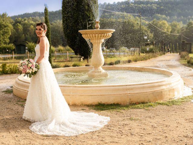 Le mariage de Luca et Lauren à Villecroze, Var 60
