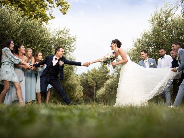 Le mariage de Luca et Lauren à Villecroze, Var 2
