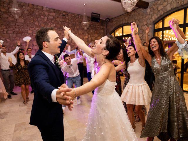 Le mariage de Luca et Lauren à Villecroze, Var 85