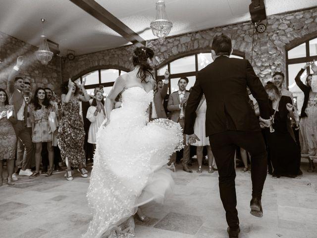Le mariage de Luca et Lauren à Villecroze, Var 89