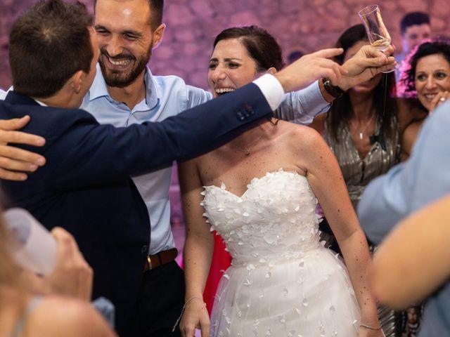 Le mariage de Luca et Lauren à Villecroze, Var 91