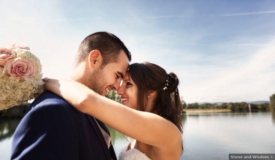 Le mariage de Cédric et Myriam à Montmerle-sur-Saône, Ain