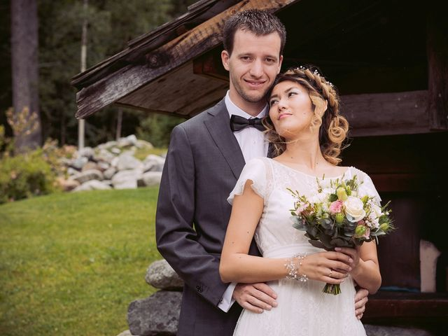 Le mariage de Sébastien et Karla à Chamonix-Mont-Blanc, Haute-Savoie 16