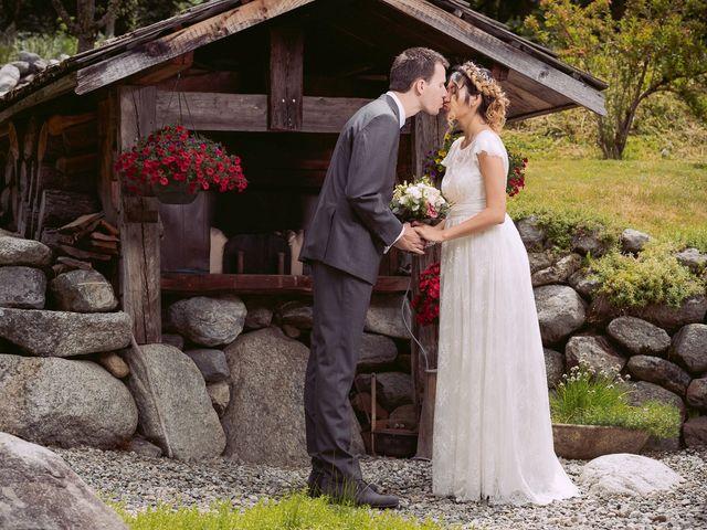 Le mariage de Sébastien et Karla à Chamonix-Mont-Blanc, Haute-Savoie 17