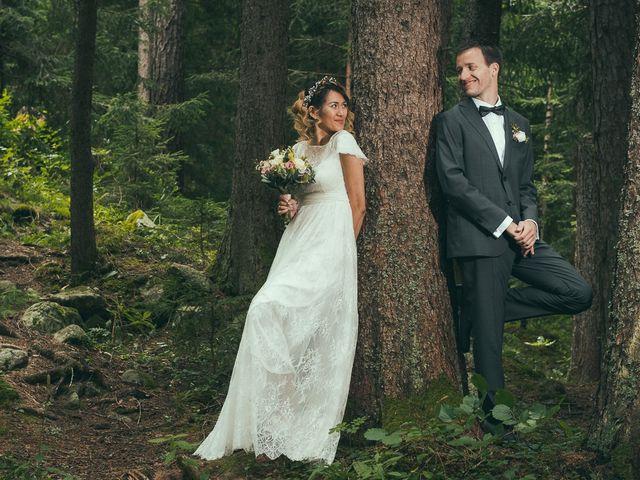 Le mariage de Sébastien et Karla à Chamonix-Mont-Blanc, Haute-Savoie 25