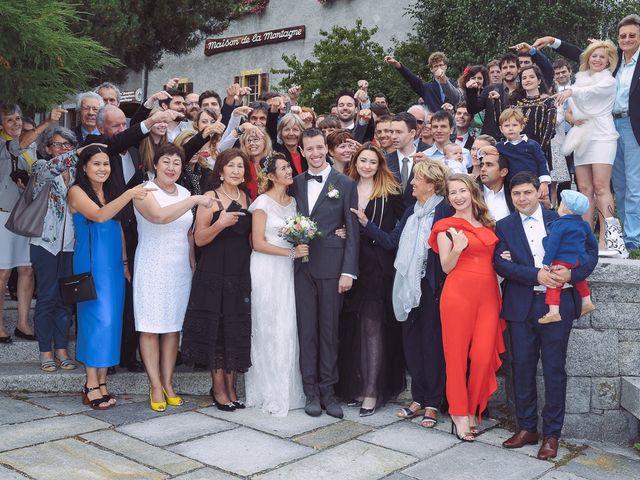 Le mariage de Sébastien et Karla à Chamonix-Mont-Blanc, Haute-Savoie 44