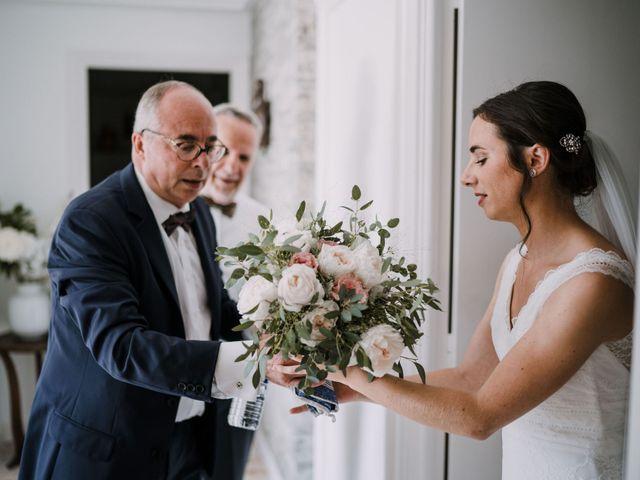 Le mariage de William et Florence à Bohars, Finistère 35