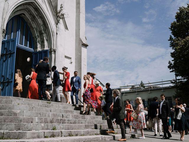 Le mariage de William et Florence à Bohars, Finistère 40