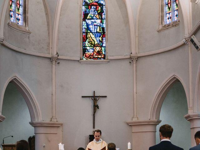 Le mariage de William et Florence à Bohars, Finistère 56