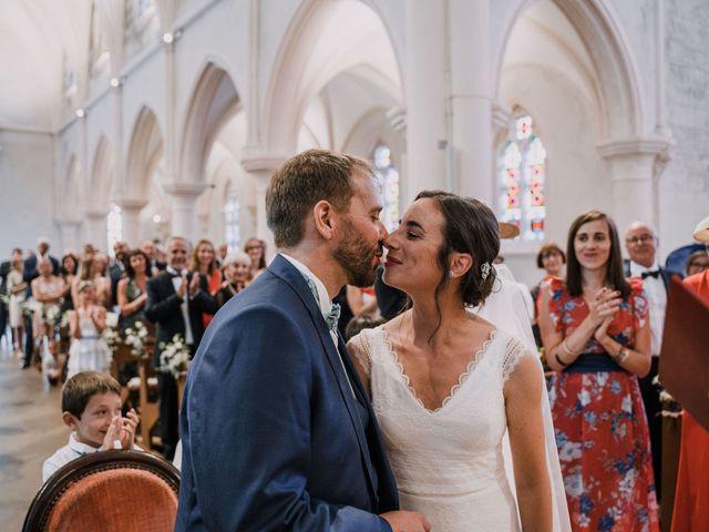 Le mariage de William et Florence à Bohars, Finistère 86