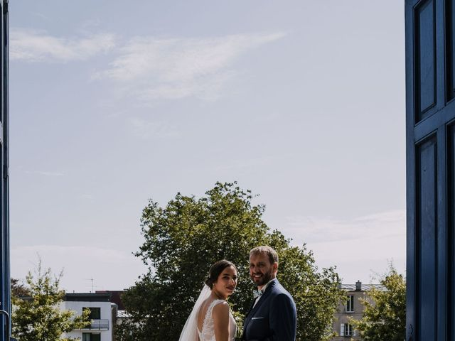 Le mariage de William et Florence à Bohars, Finistère 102