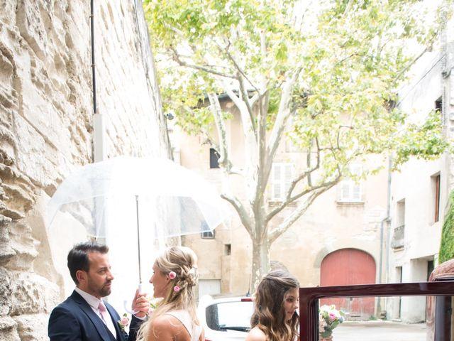 Le mariage de Rodolphe et Adriana à Villeneuve-les-Avignon, Gard 12
