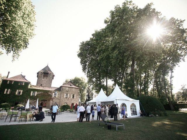 Le mariage de Thibaut et Ludivine à Perrignier, Haute-Savoie 20