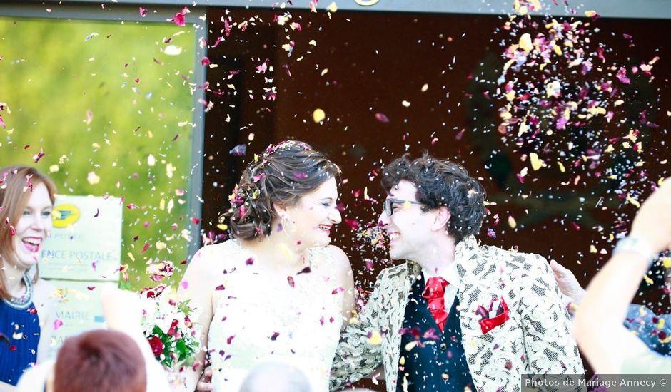 Le mariage de Thibaut et Ludivine à Perrignier, Haute-Savoie