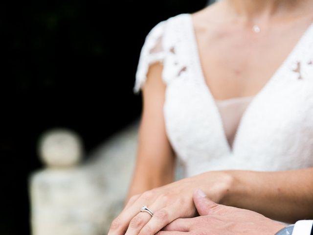 Le mariage de Cédric et Elsa à Martillac, Gironde 25