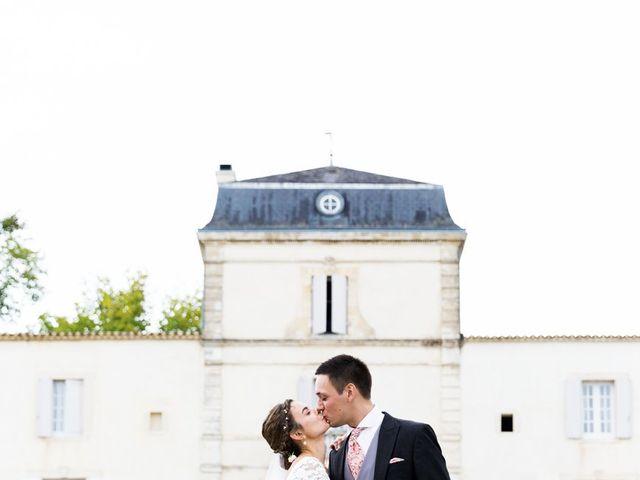Le mariage de Cédric et Elsa à Martillac, Gironde 26